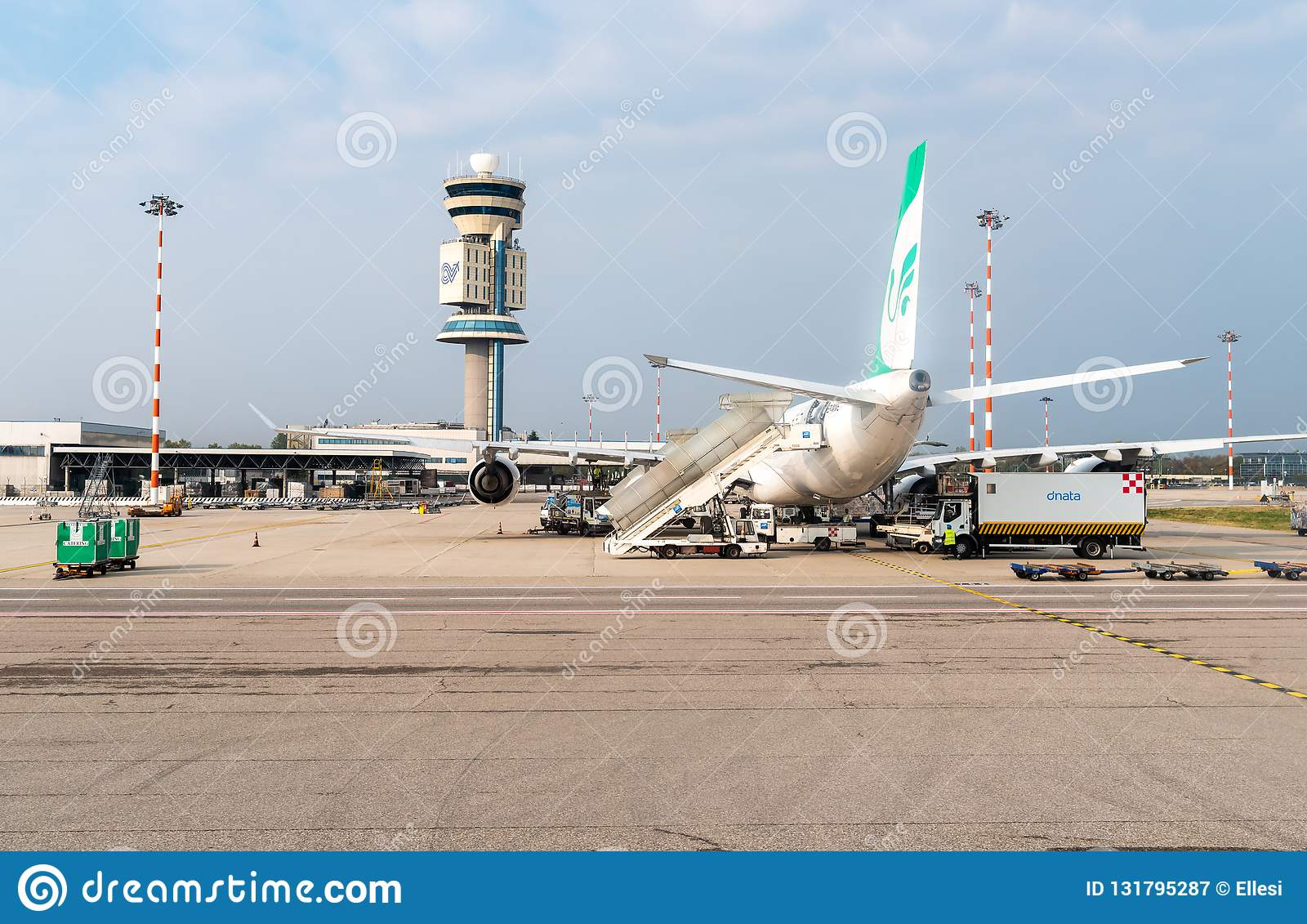 View Of Milan Malpensa International Airport Terminal 1 Editorial Photography Image Of Flight Outdoor 131795287