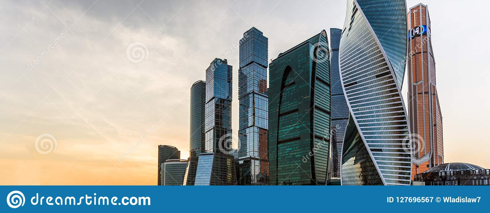 View of Moscow City