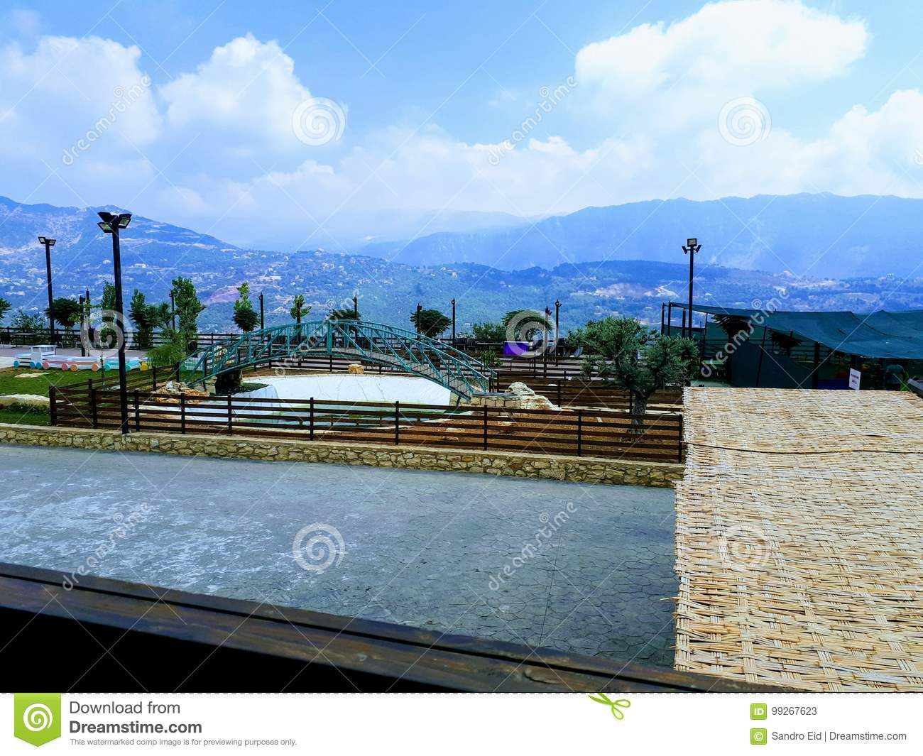 View from Mount Lebanon