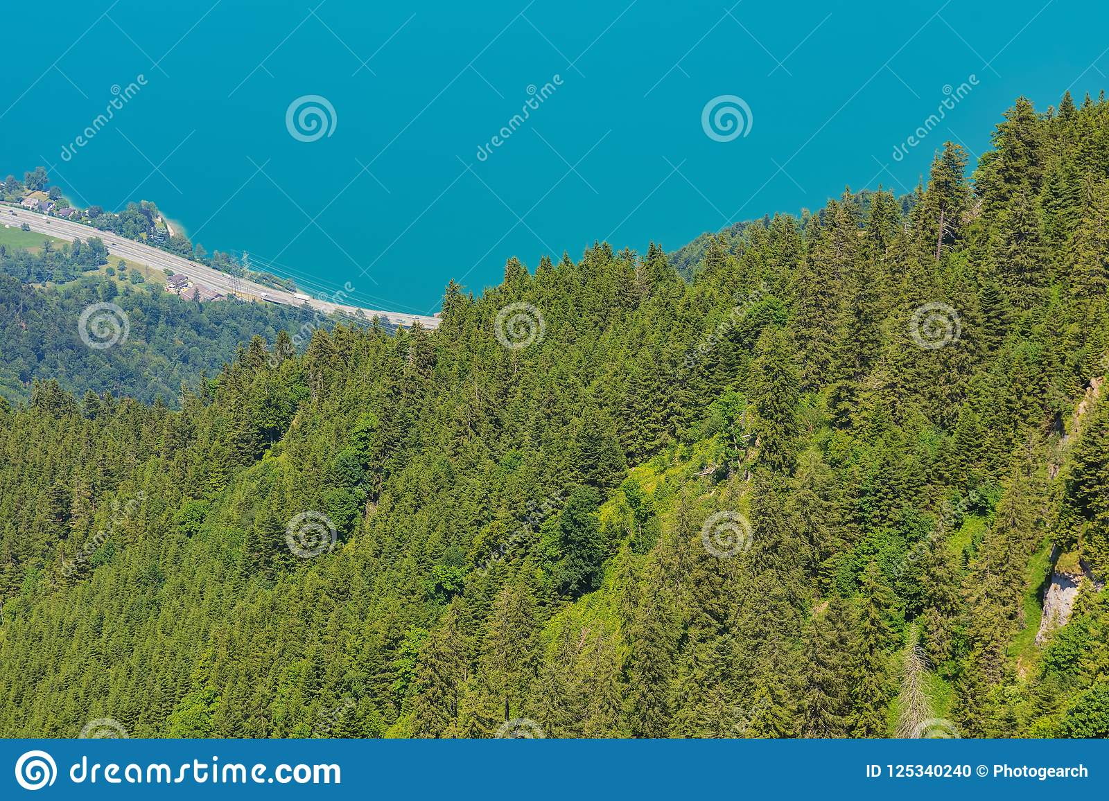 view from mt rigi in switzerland stock photo image of travel