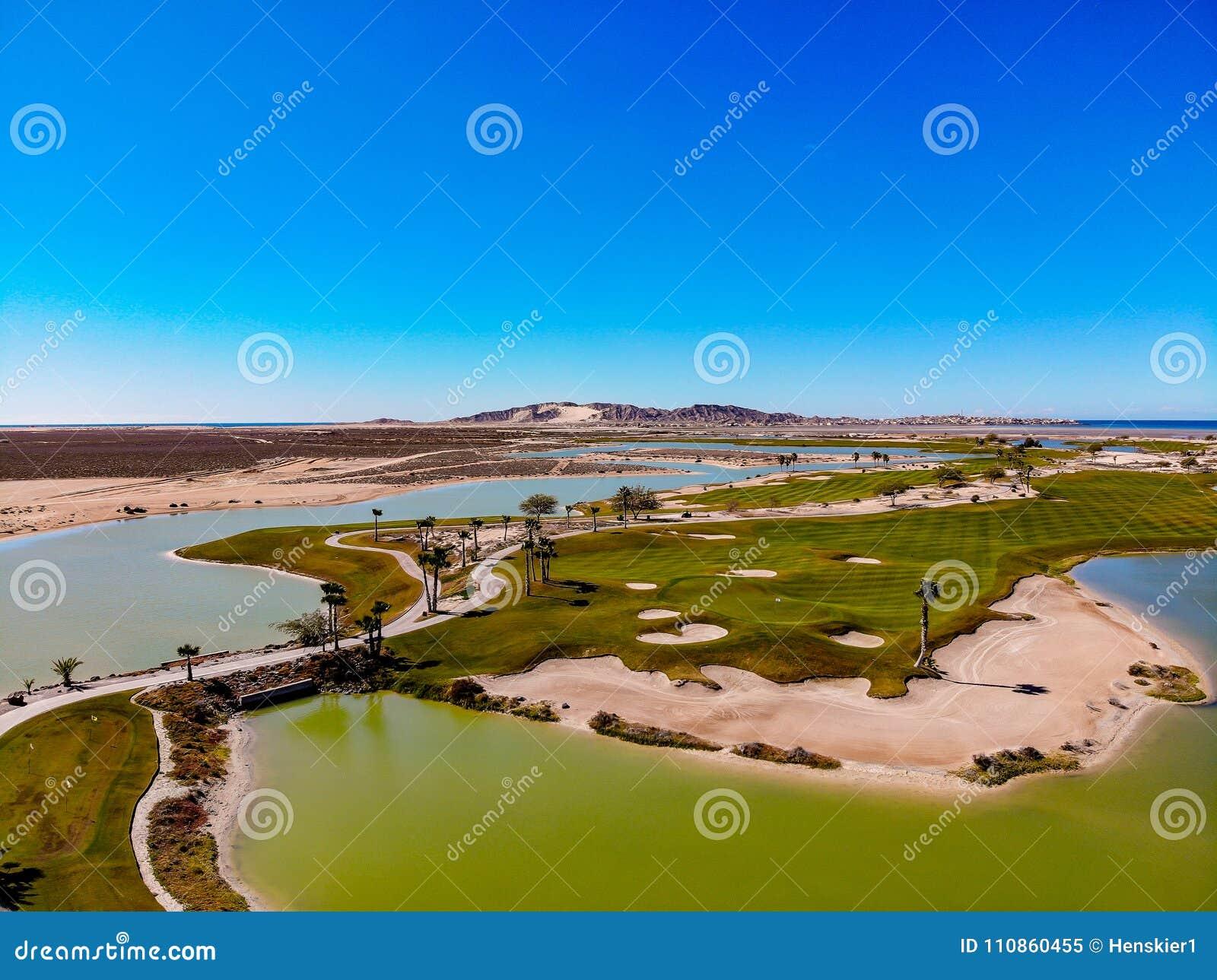 View Of Nicklaus Designed Islas Del Mar Golf Course Editorial Image