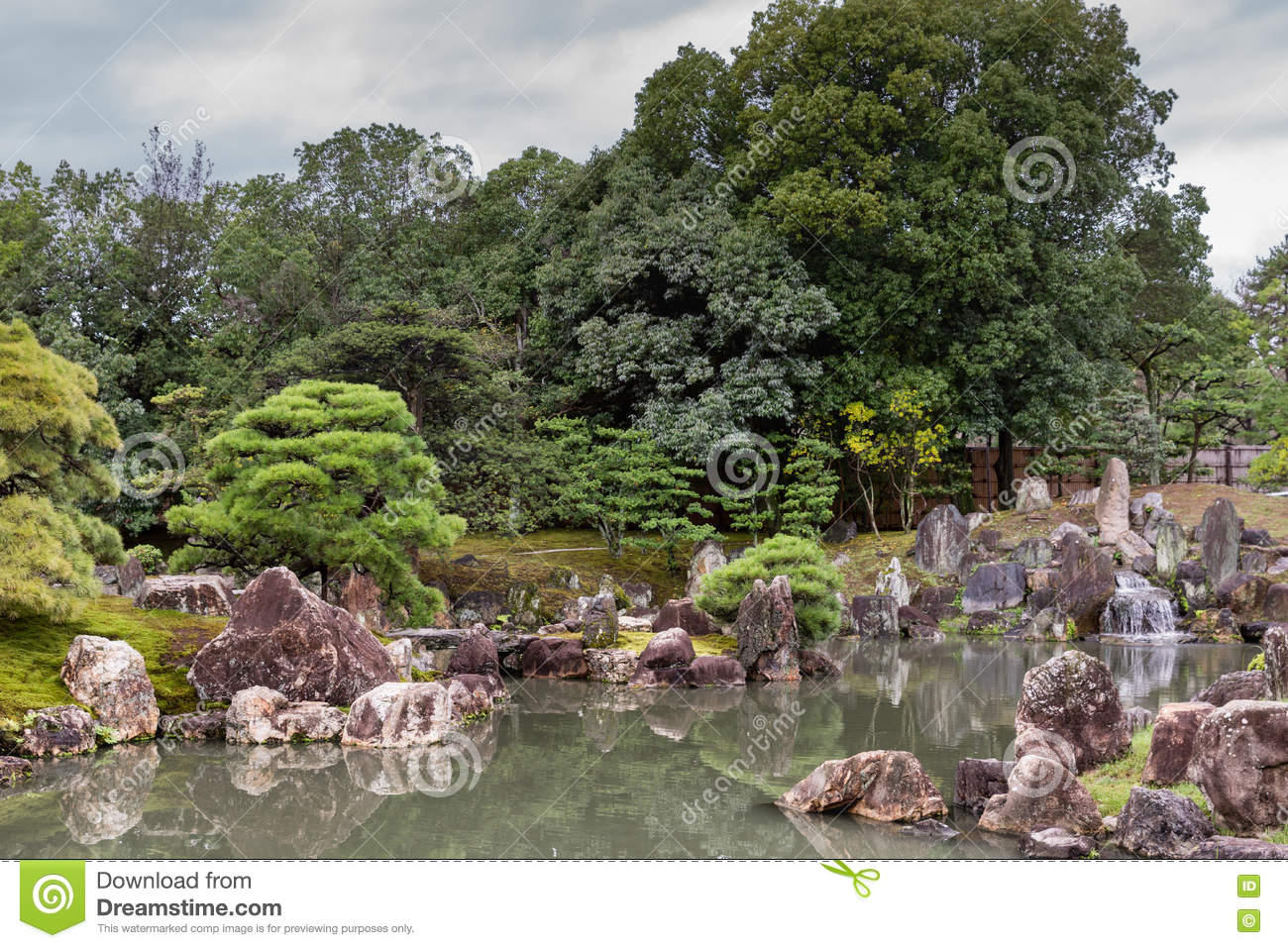 View of Ninomaru garden at Nijo Castle.