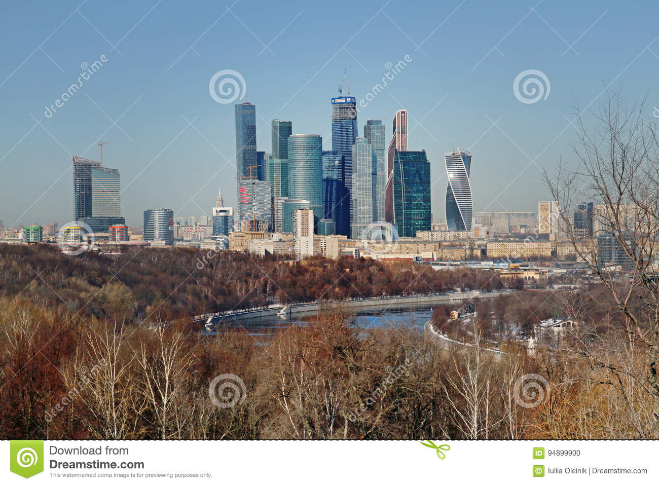 Moscow, Vorobyevy Gory: observation deck 23