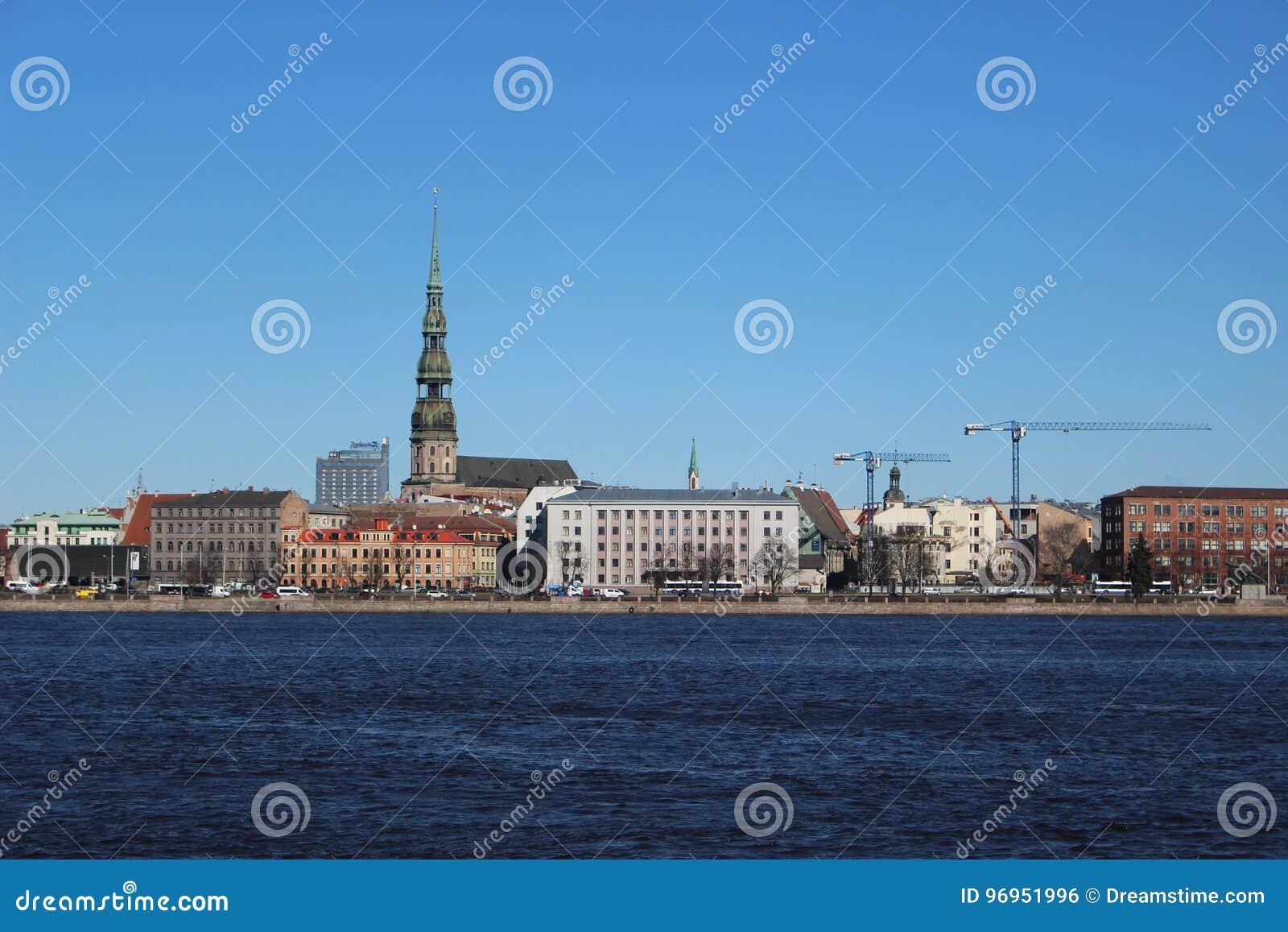 View Of Old Riga Editorial Photo Image Of Riga Latvia 96951996
