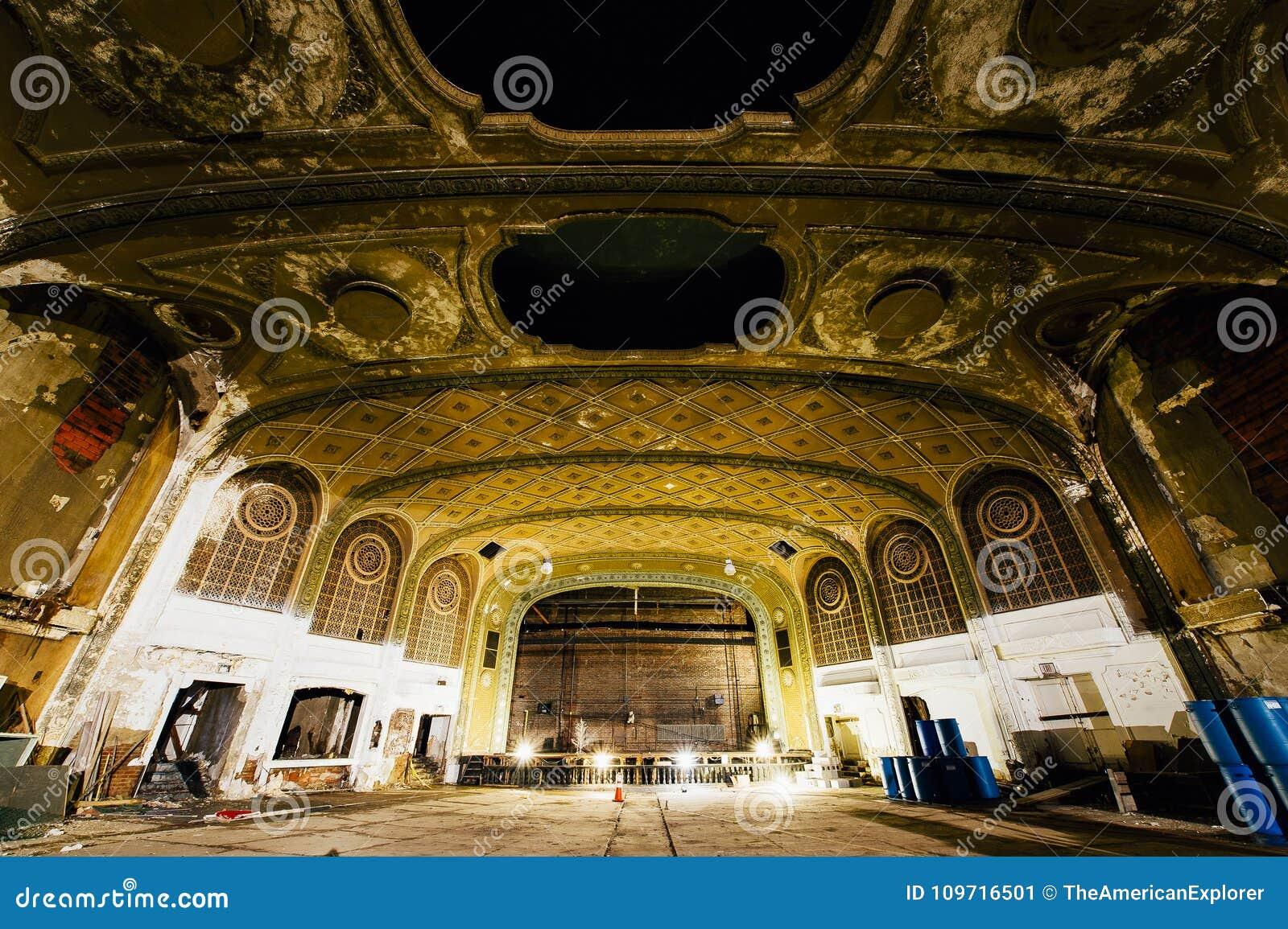 Abandoned Variety Theater - Cleveland, Ohio