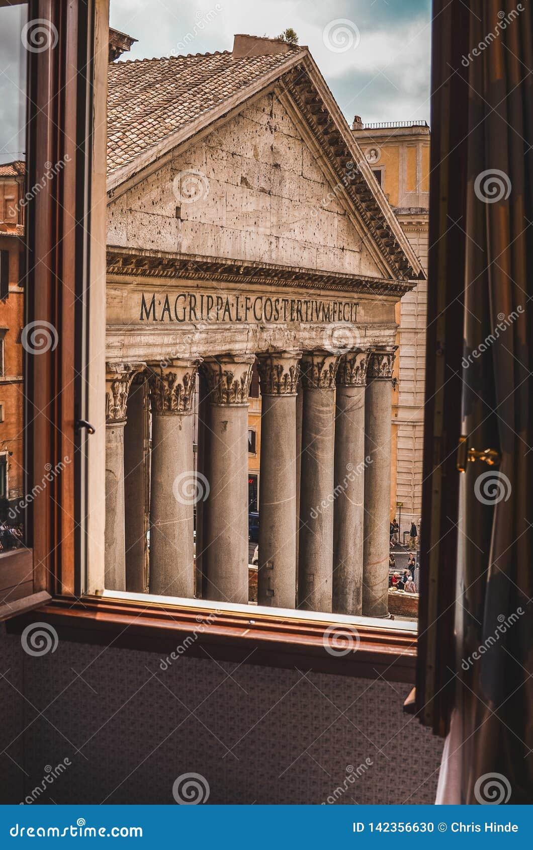 Pantheon next door