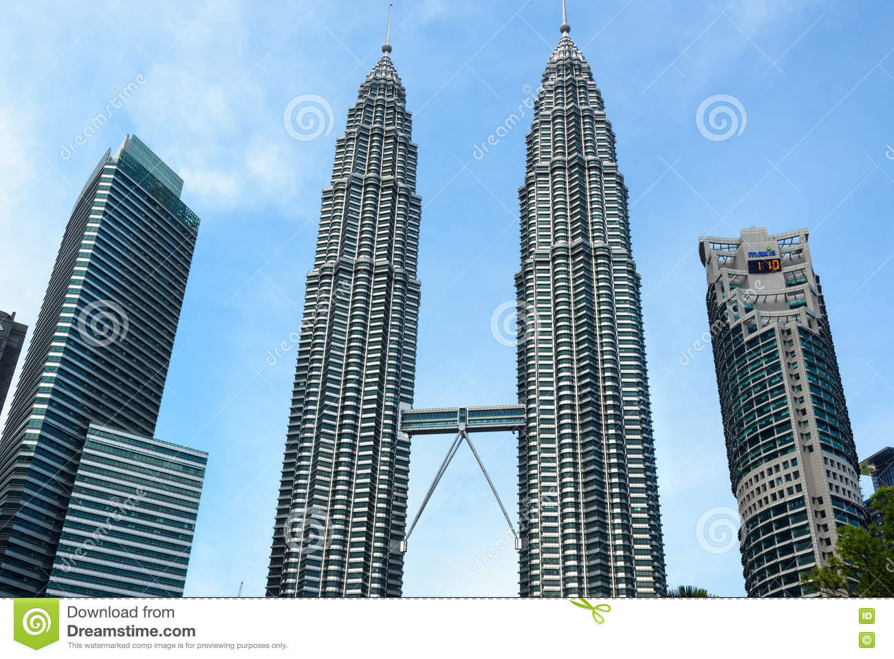 View Of Petronas Towers Editorial Photography Image Of