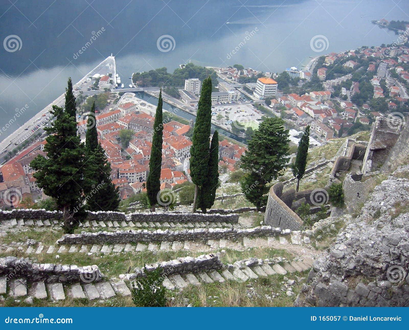 View at Port of Kotor