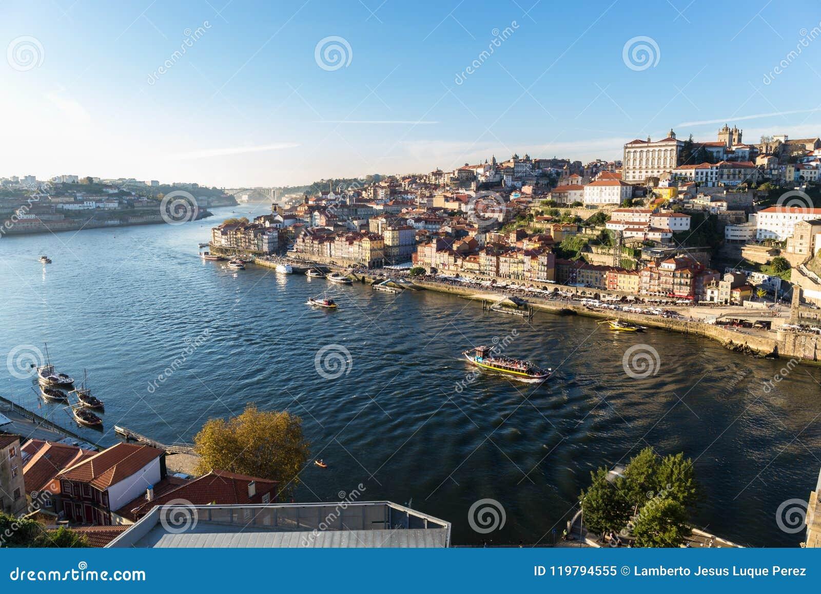 View of Porto and the Douro River