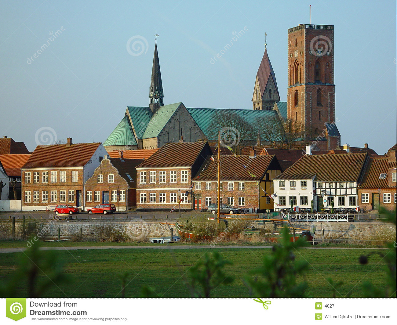 View On Ribe, Denmark Royalty Free Stock Photography - Image: 4027