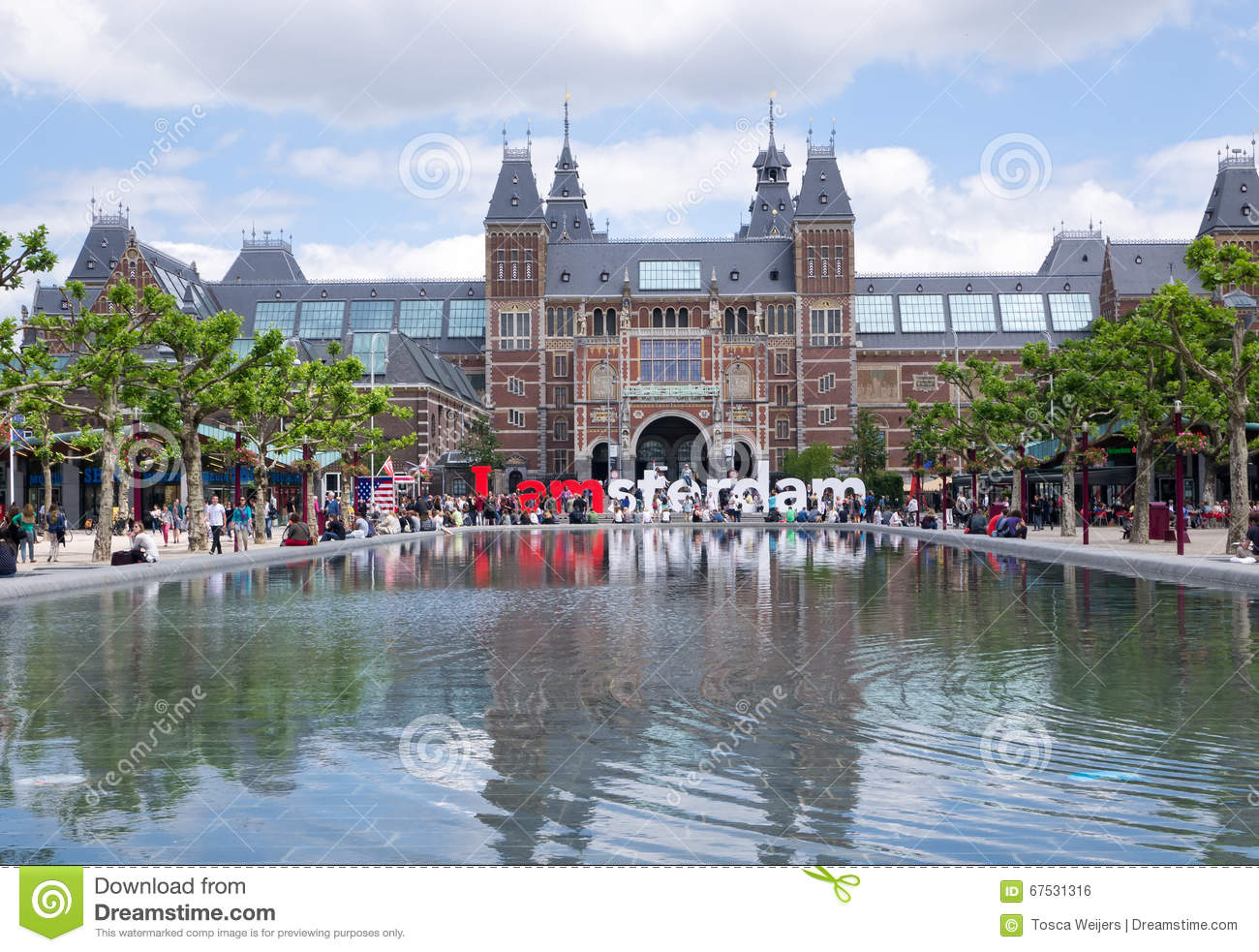 view of rijksmuseum amsterdam editorial photo image of house city 67531316. Black Bedroom Furniture Sets. Home Design Ideas