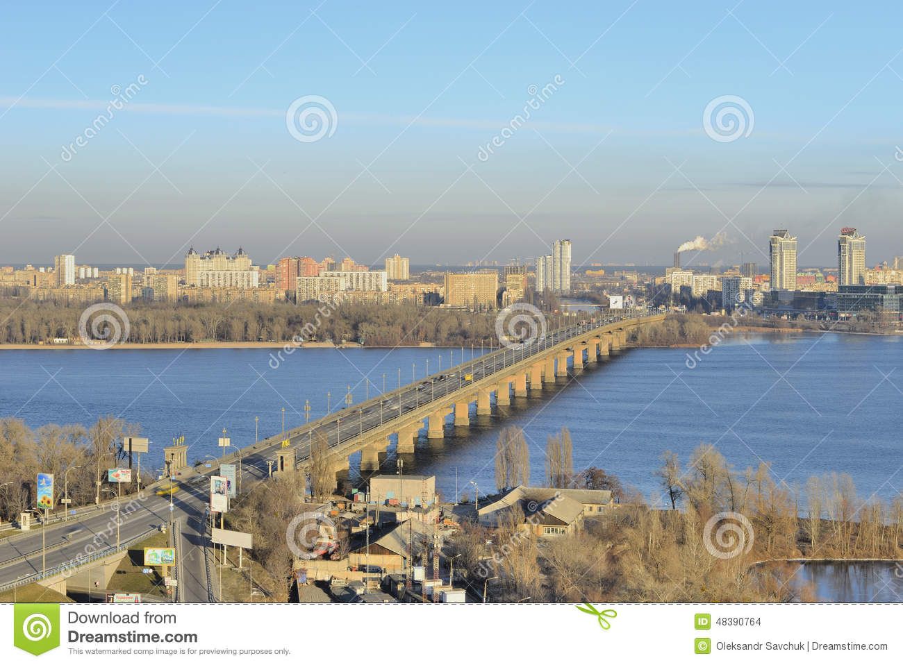 View of the river Dnieper