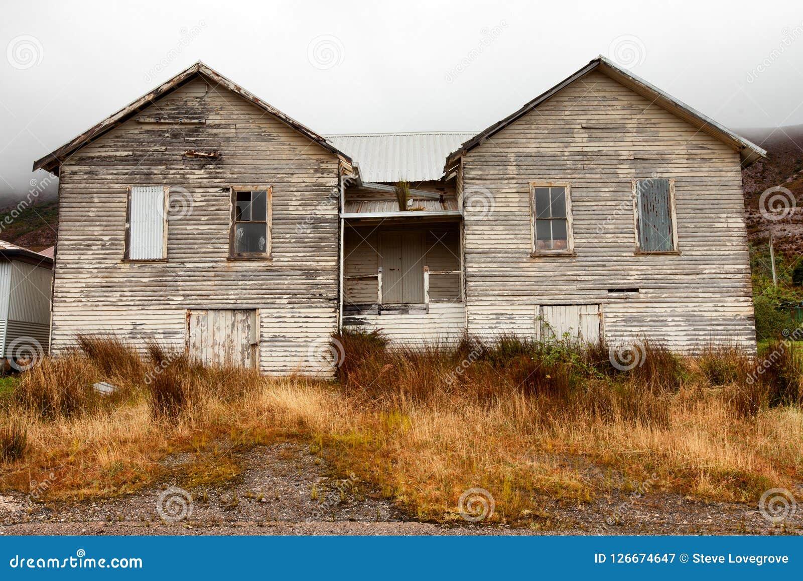 Old township of Gormaston Tasmania