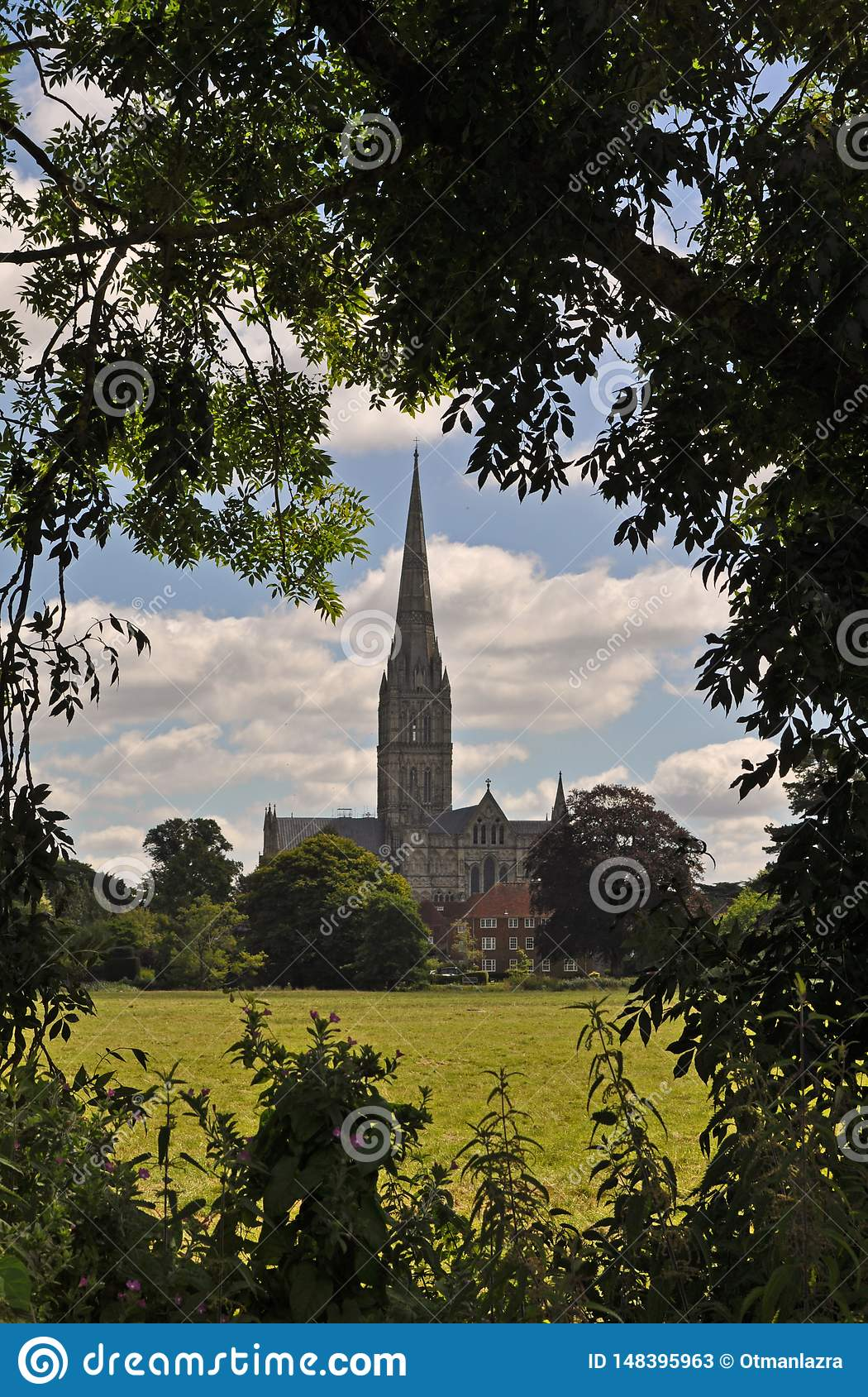 Salisbury cathedral church of the Blessed Virgin Mary