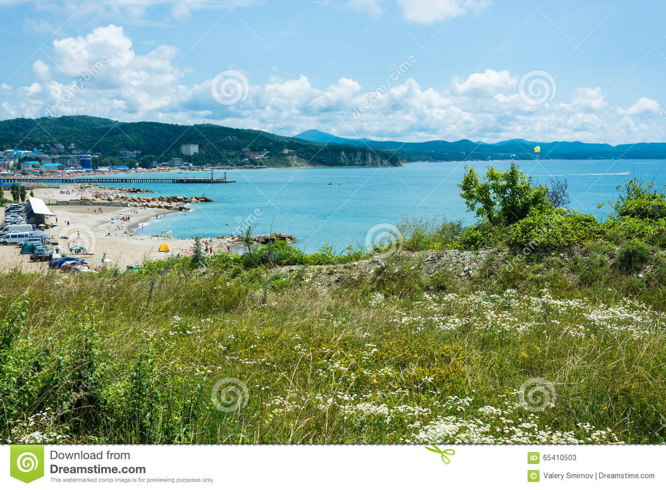 The village of Lermontovo, Krasnodar Territory: a photo of the beach, weather, hotels, vacation reviews 74