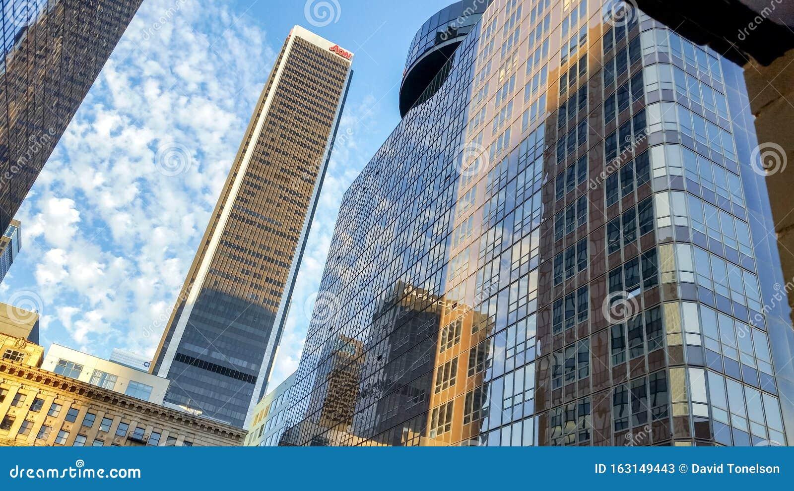 La Skyline Editorial Stock Photo Image Of Skyline Finance 163149443