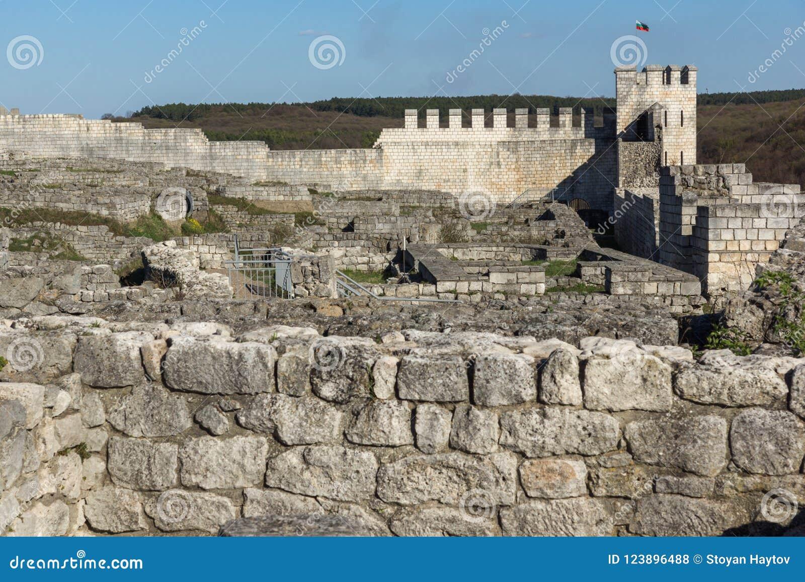 Shumen Fortress Archaeological Site Near Town Of Shoumen Bulgaria