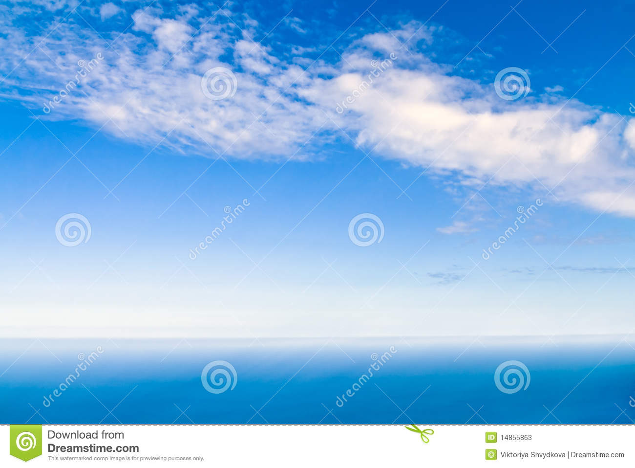 View of sky and sea