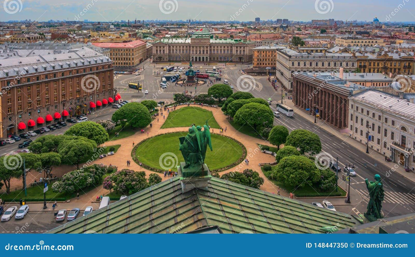 Landmarks Saint-Petersburg, Russia