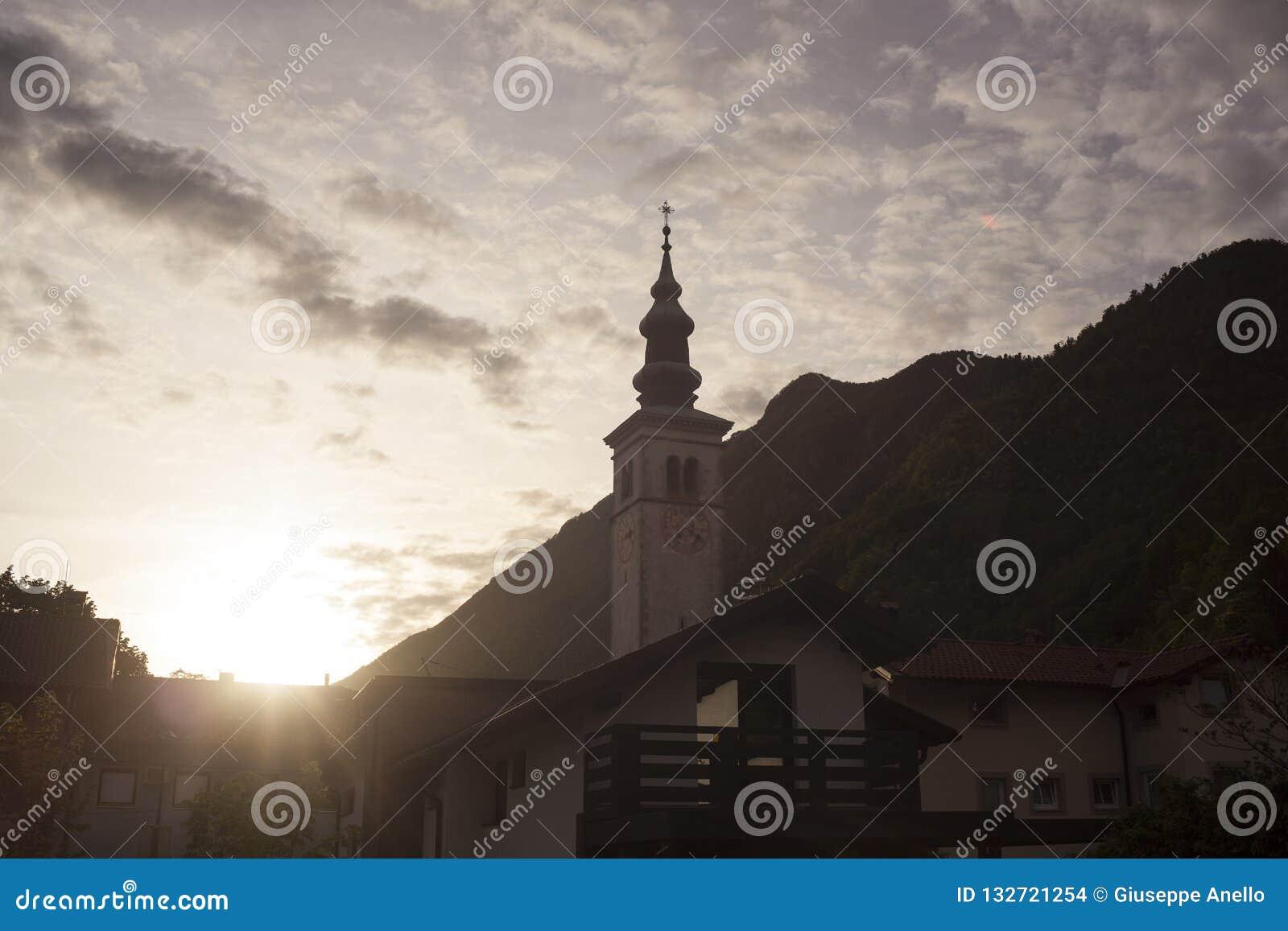 St Mary. of the Assumption church, Kobarid