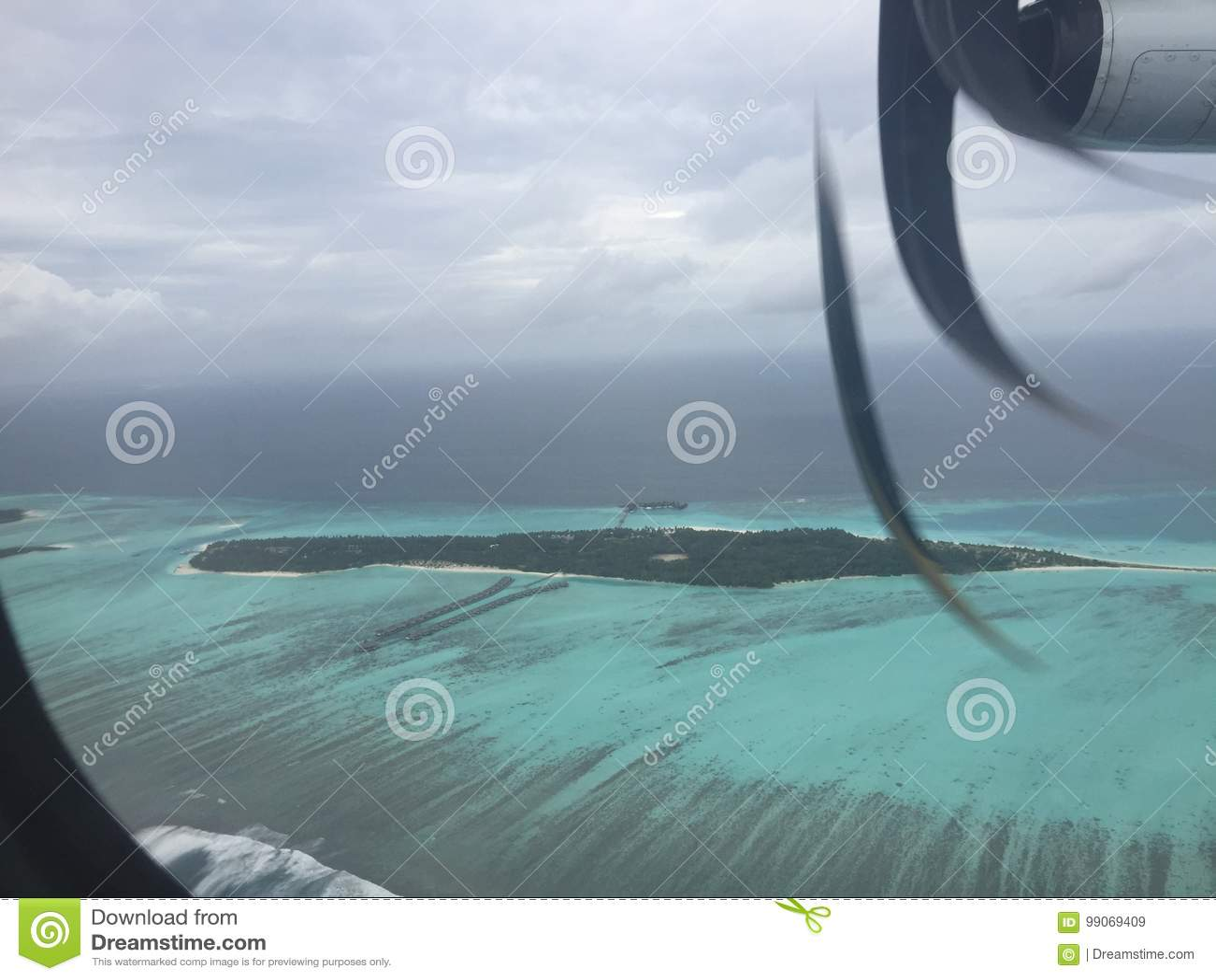 Sun Island Resort And Spa Maldives Stock Image Image Of