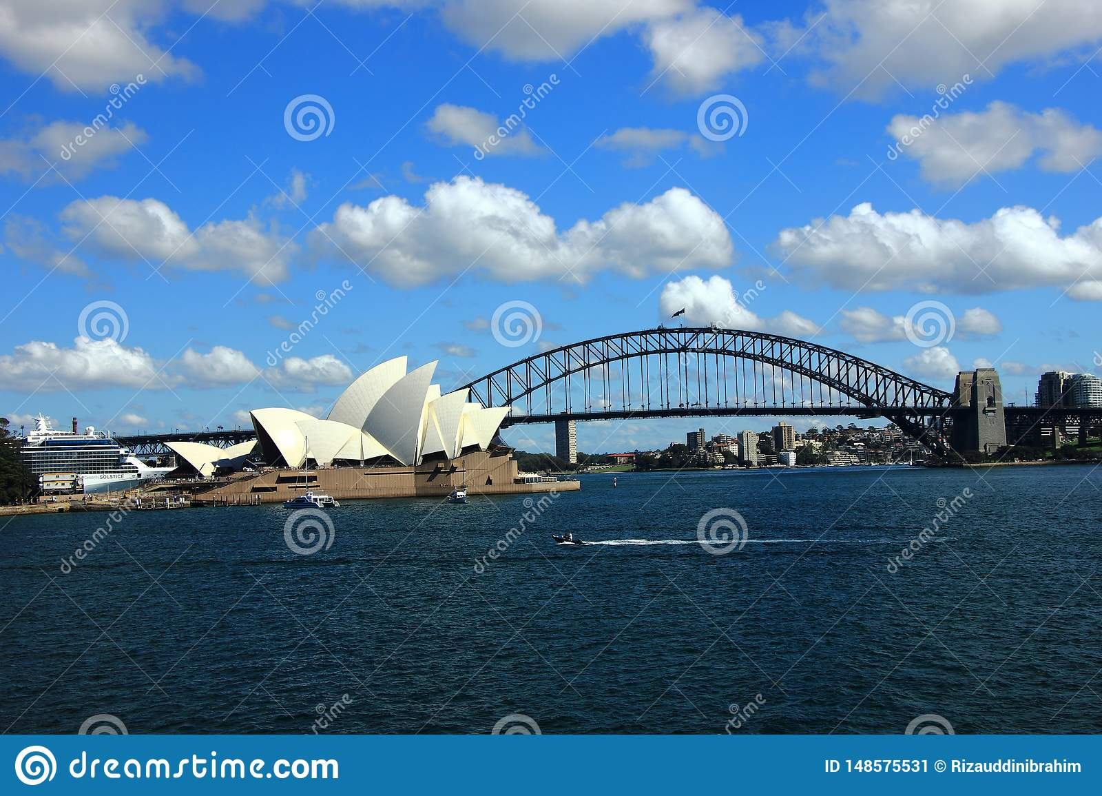 The View of Sydney Harbor