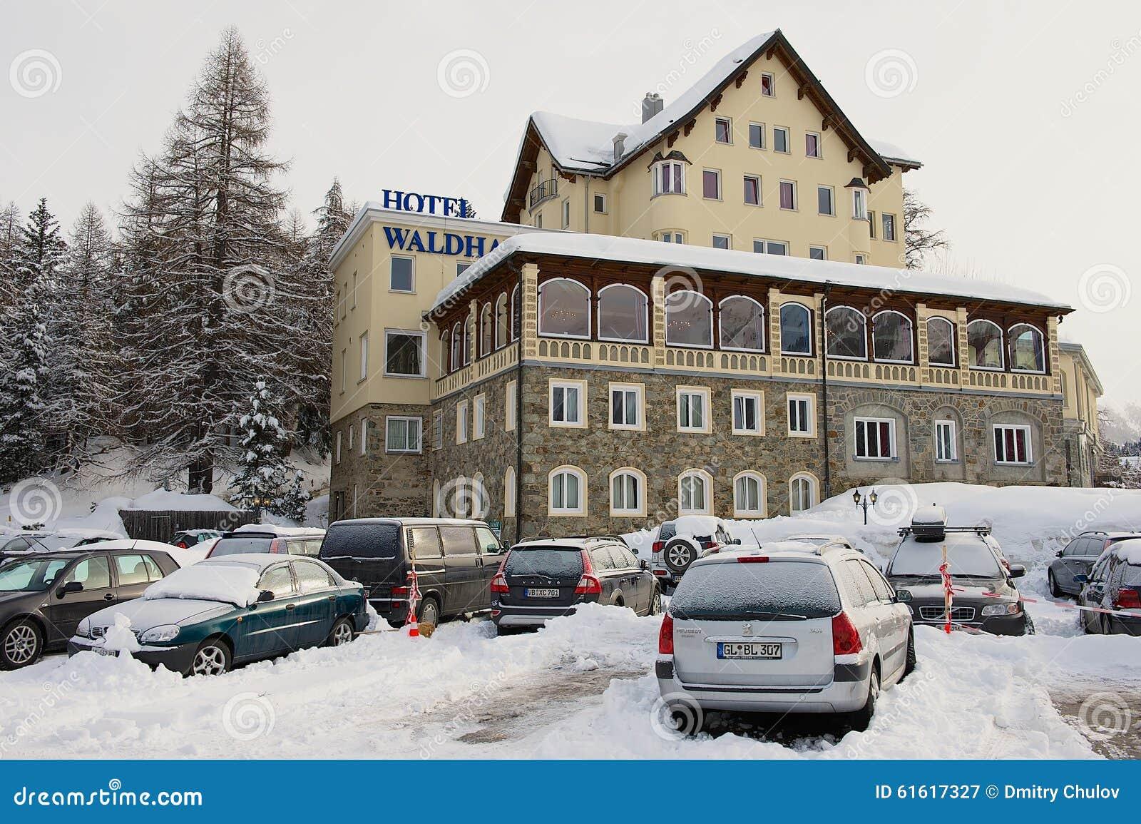 Waldhaus Hotel St Moritz