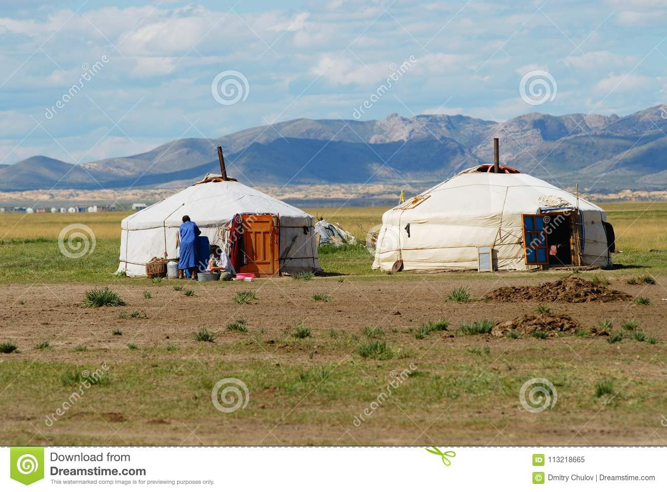 view-to-traditional-mongolian-yurts-noma