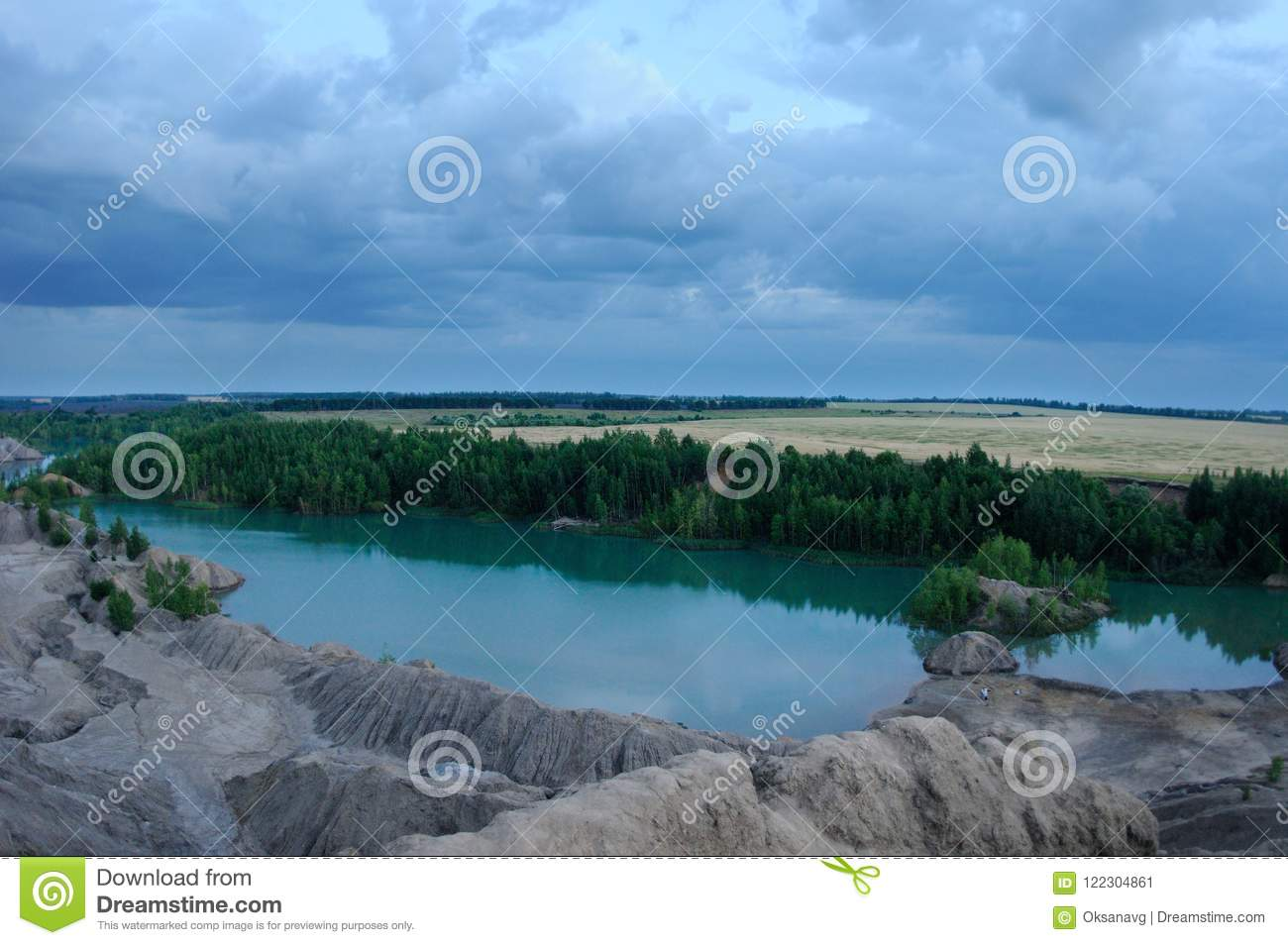 Old open pit