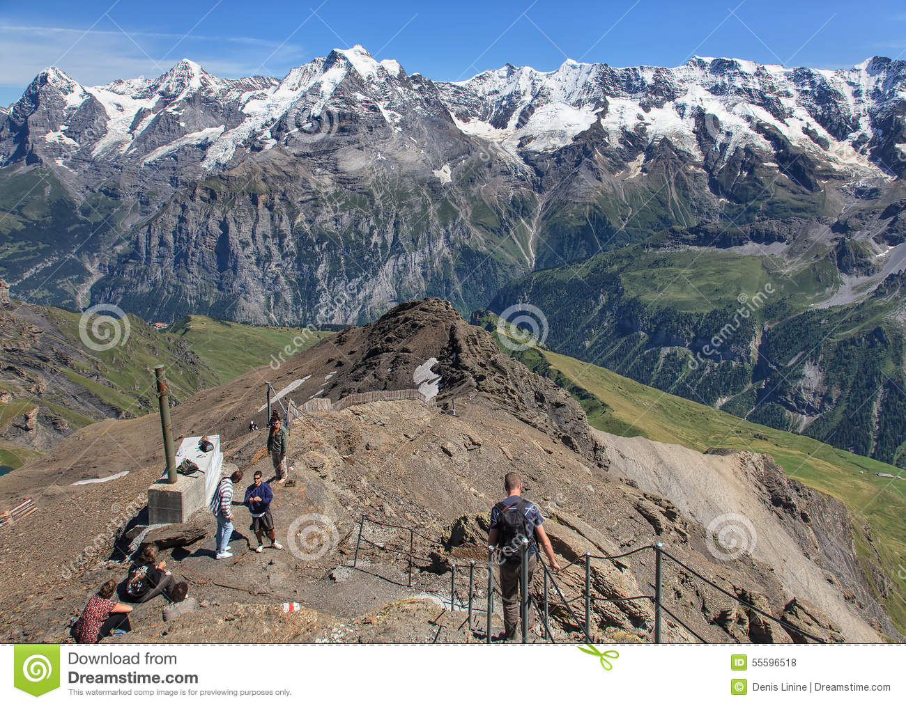 view on the top of mt schilthorn editorial stock photo ski clip art images ski clip art active