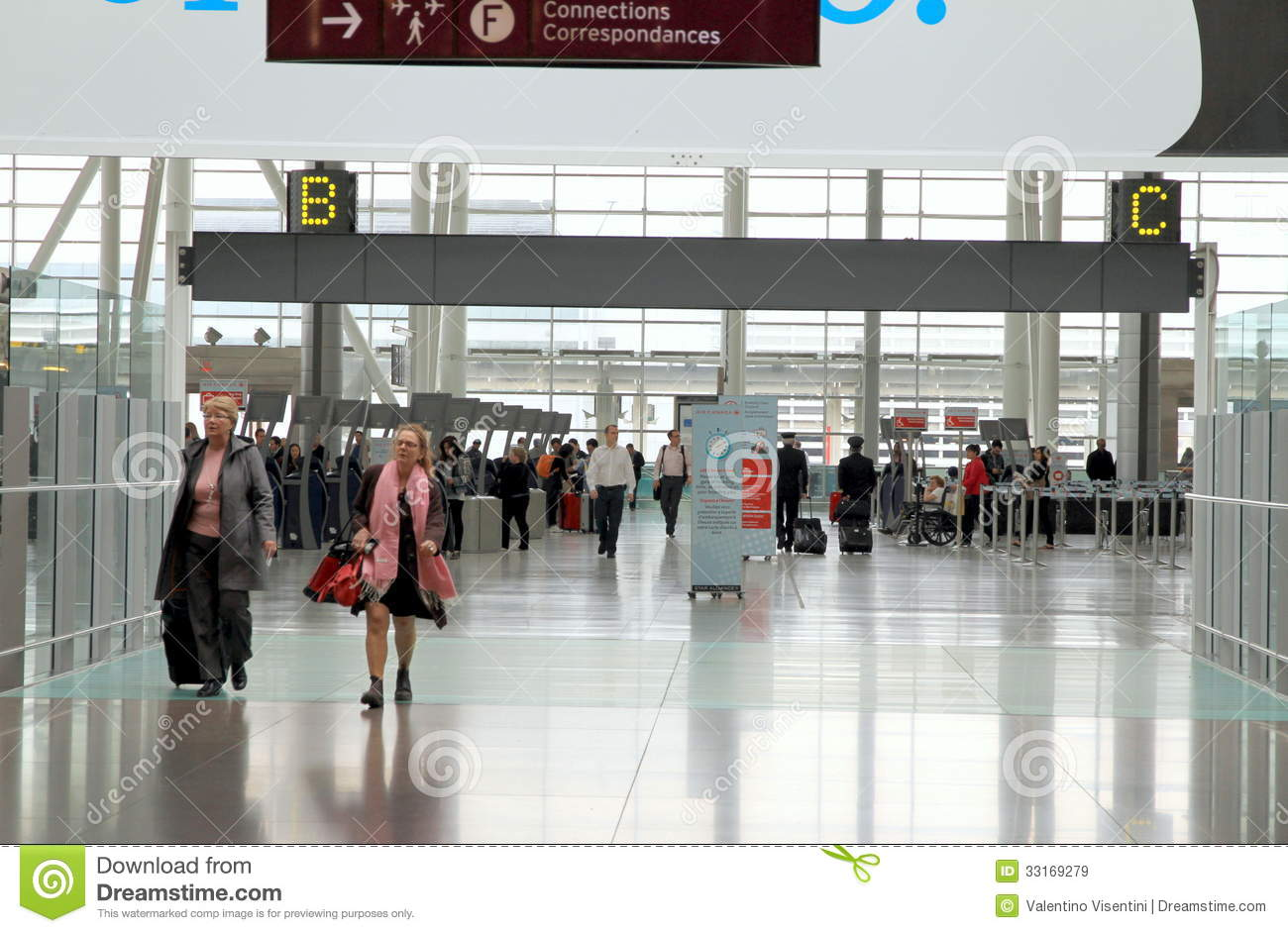 View Of The Toronto Pearson Airport Editorial Stock Image ...