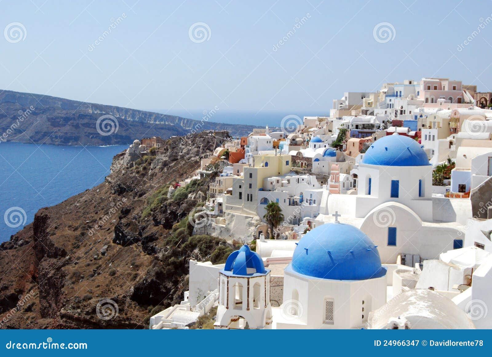 Fira Santorini Greece Royalty Free Stock Photo - Image: 34424865