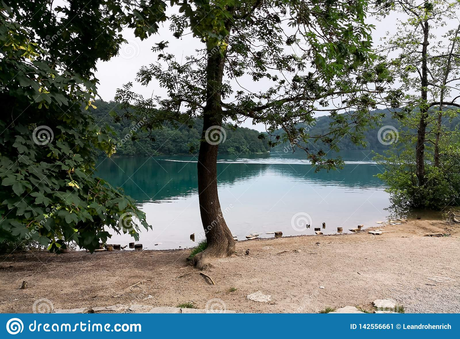 View of Plitvice Lakes Natural Park