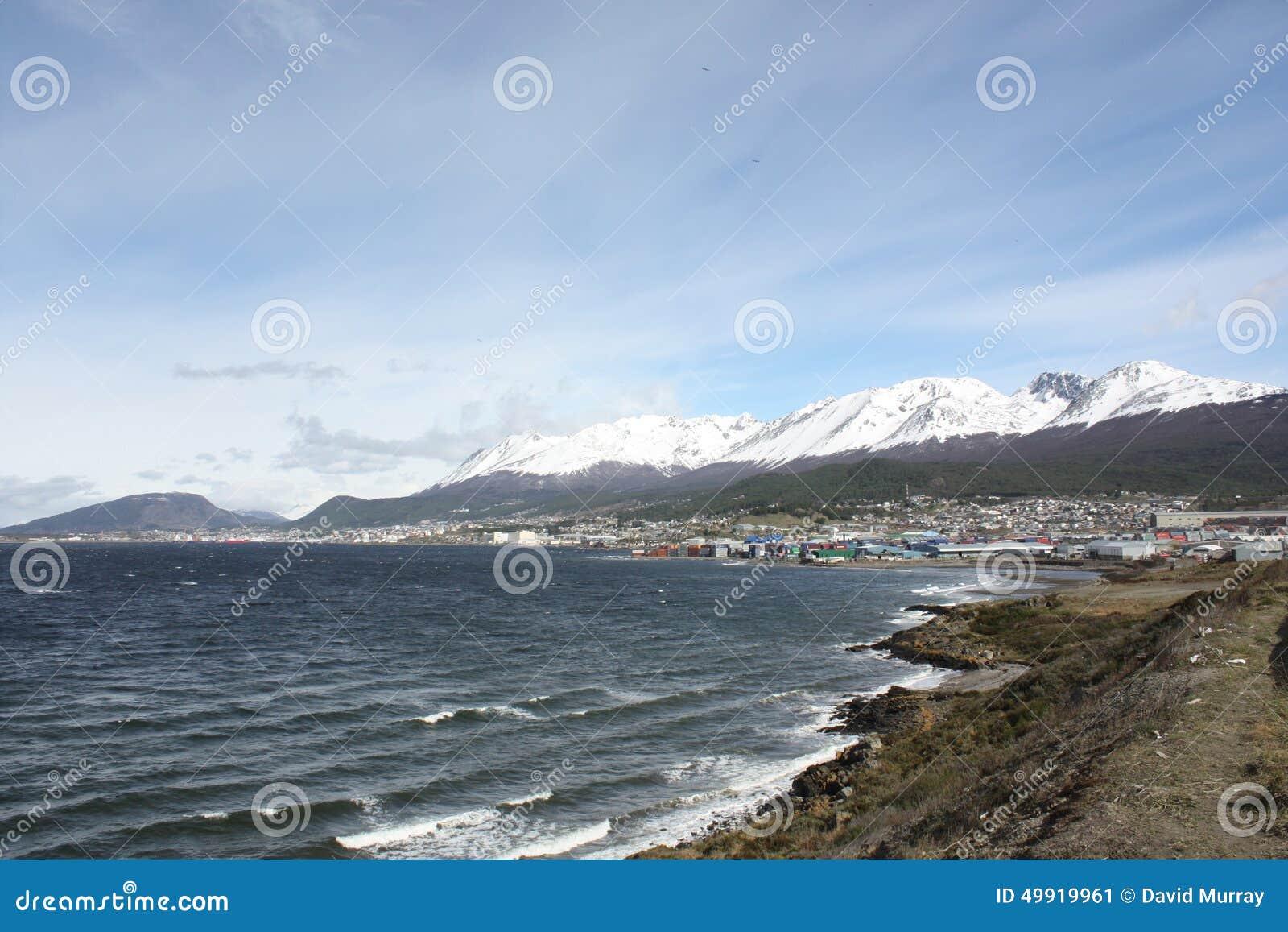 View of Ushuaia, Patagonia