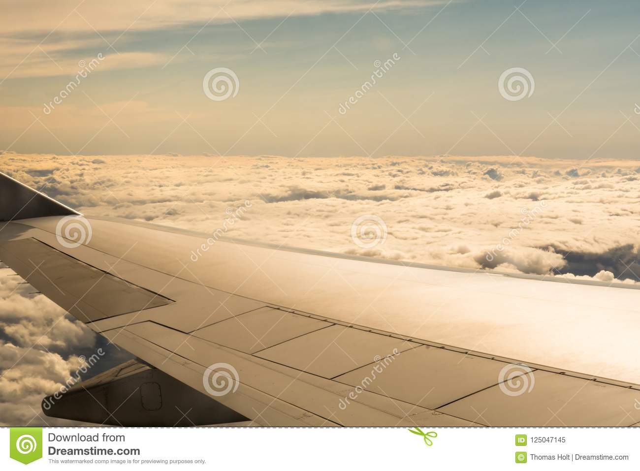 Astounding View From The Window Seat Of A Plane Above The Cloud Stock Machost Co Dining Chair Design Ideas Machostcouk