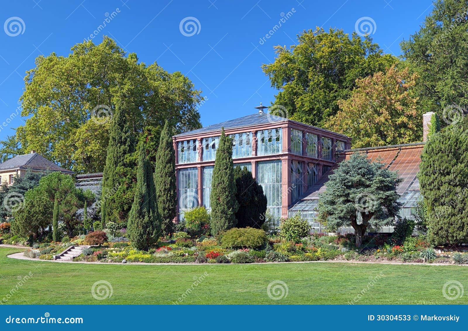 Botanischer Garten Karlsruhe Germany Stock Image Image Of