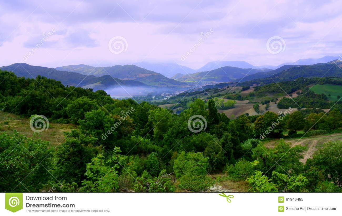 Views of the italian countryside stock photo image 61946485 for Green italy