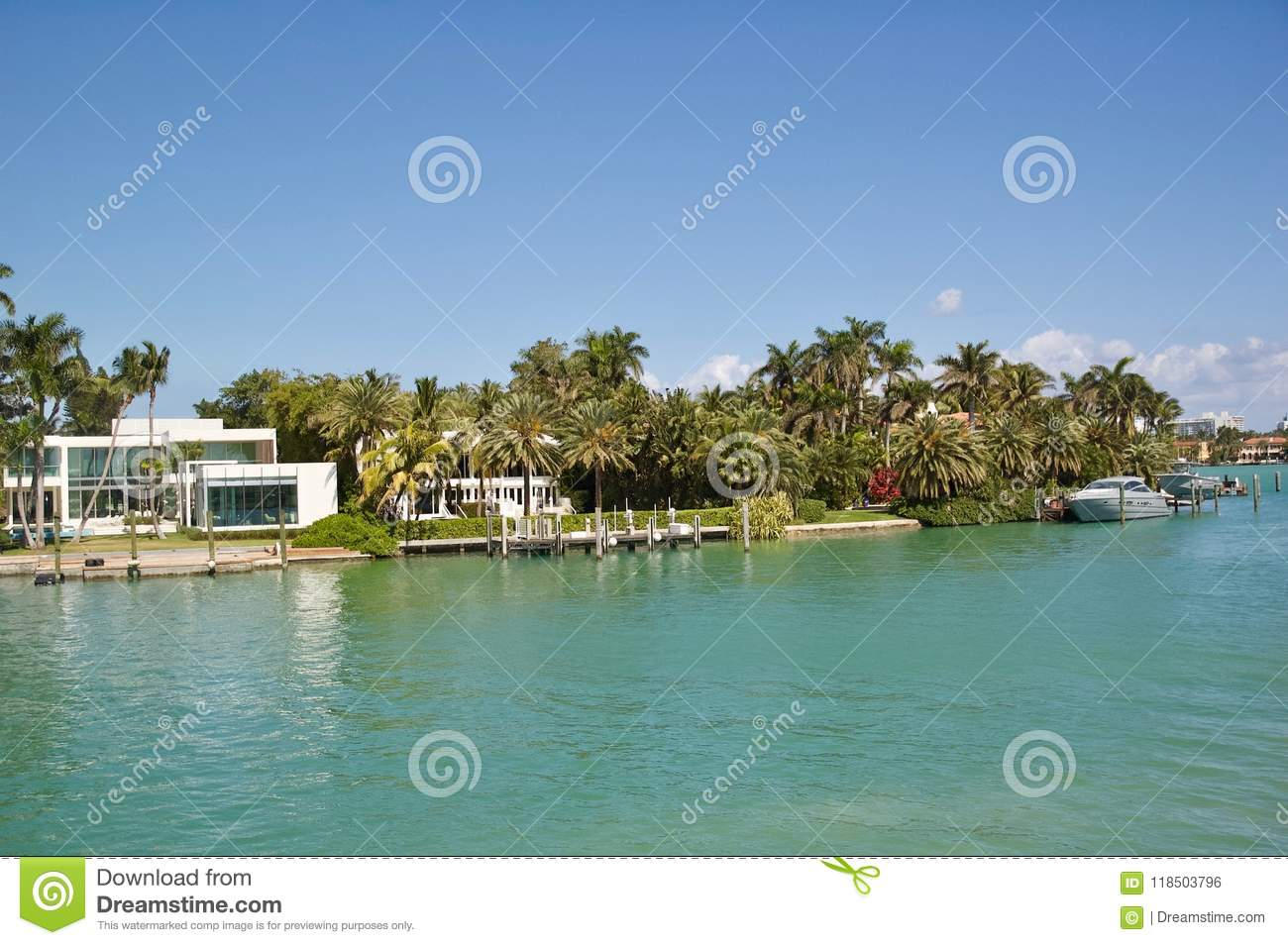 Views of Luxury Real Estate in Miami, Florida