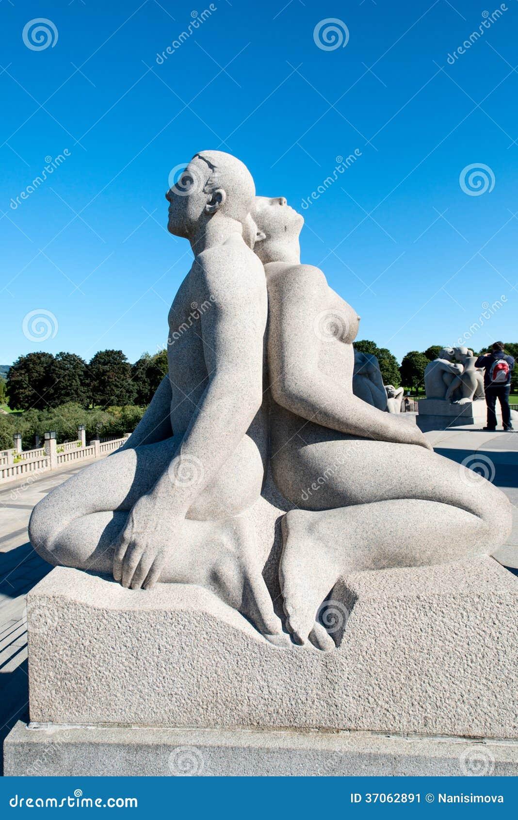 Vigeland parka rzeźba