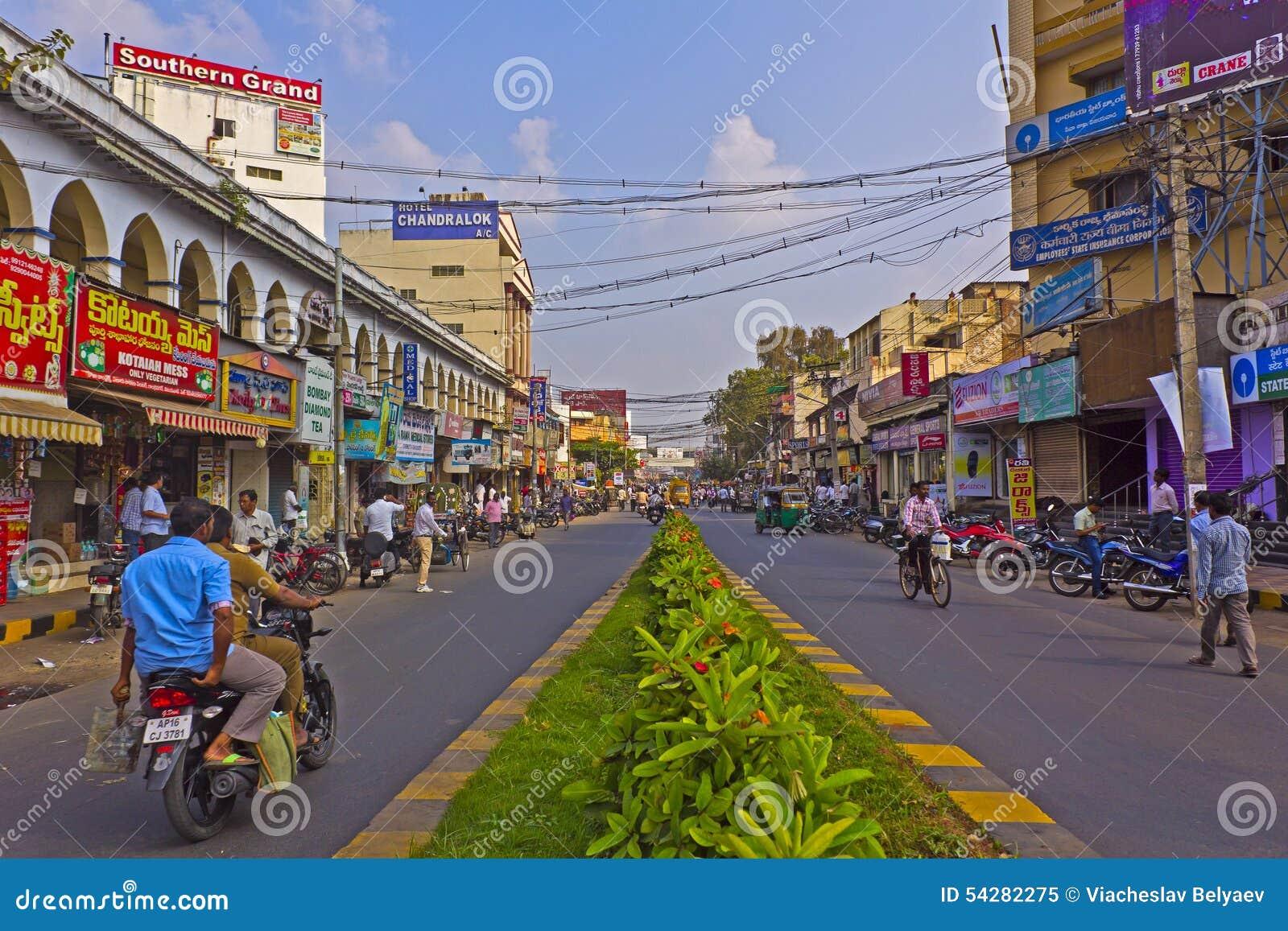 Vijayawada editorial image  Image of pedestrians, walkers