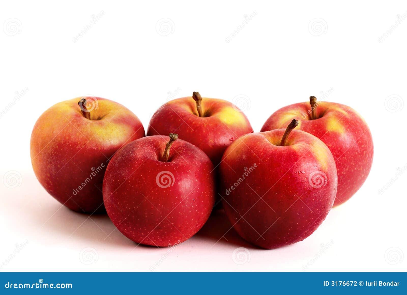 Vijf appelen