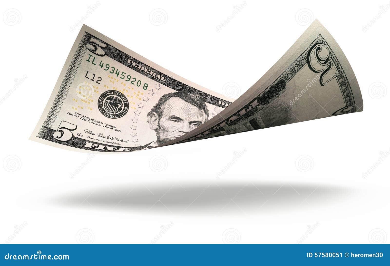 Vijf dollarbankbiljet