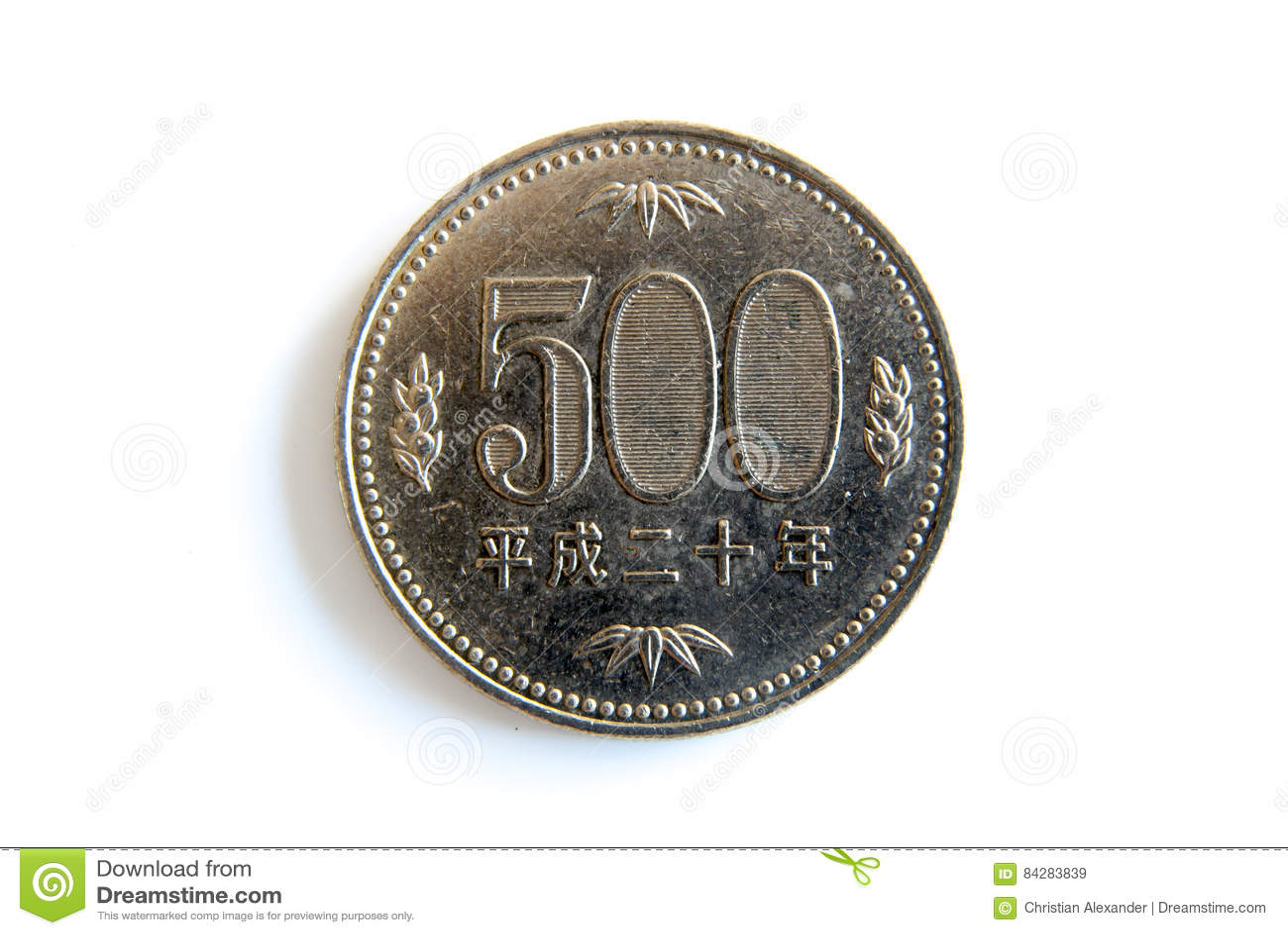 Vijf honderd Japanse Yen