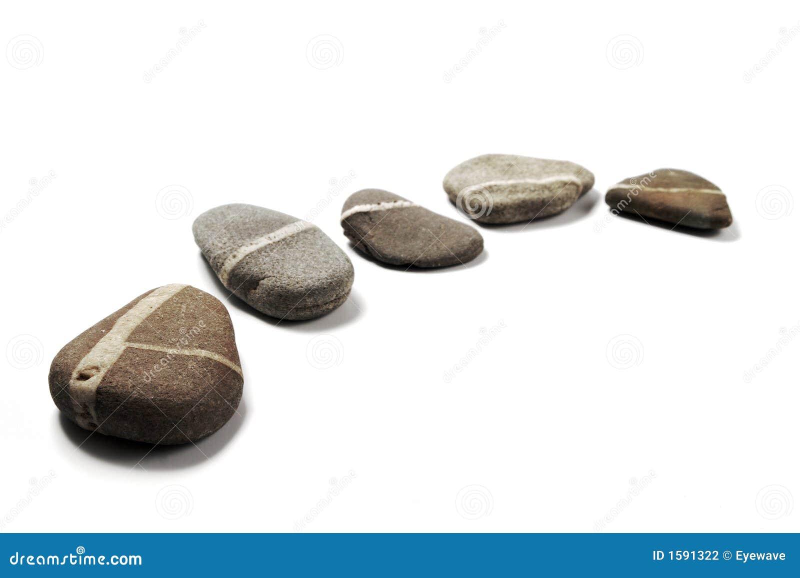Vijf stap-Stenen