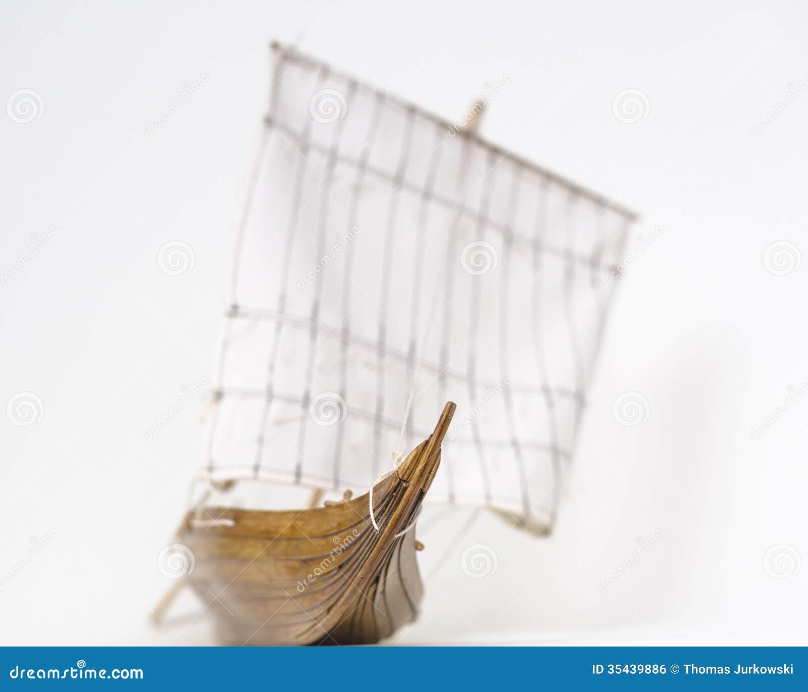 Viking Boat Model Royalty Free Stock Image - Image: 35439886