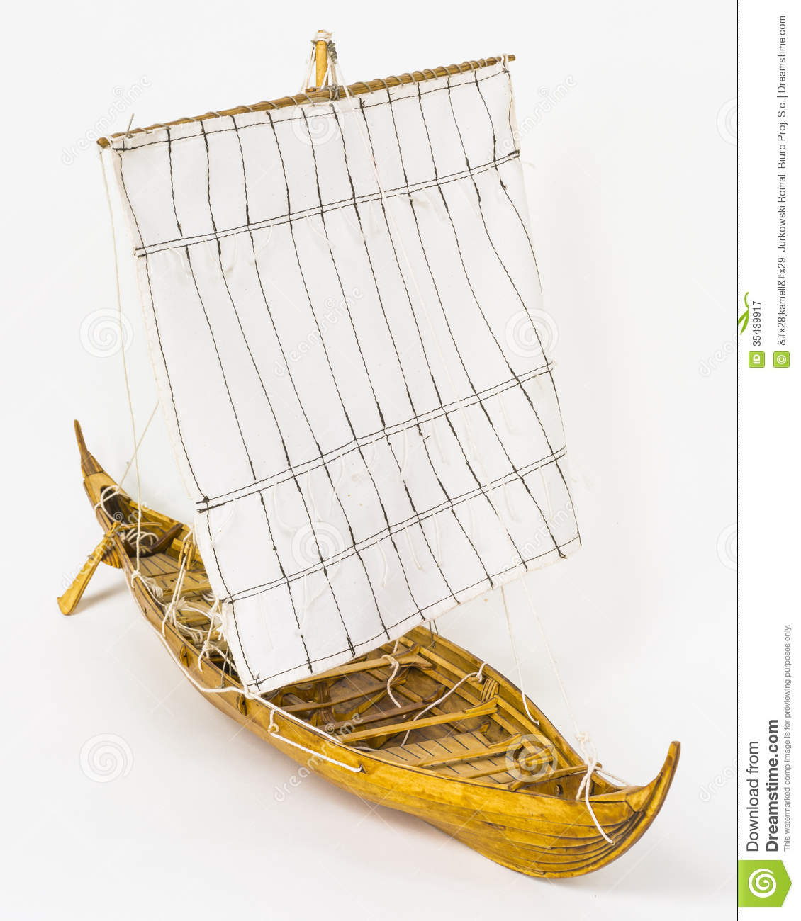 Viking Boat Model Royalty Free Stock Photography - Image ...