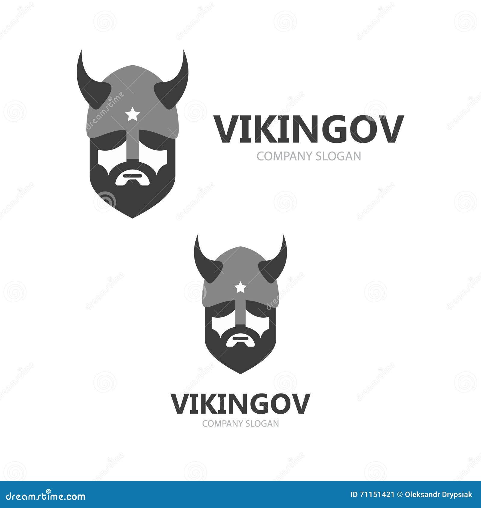 Viking head logo vector design head of warrior symbol or icon head of warrior symbol or icon face ancient biocorpaavc Gallery