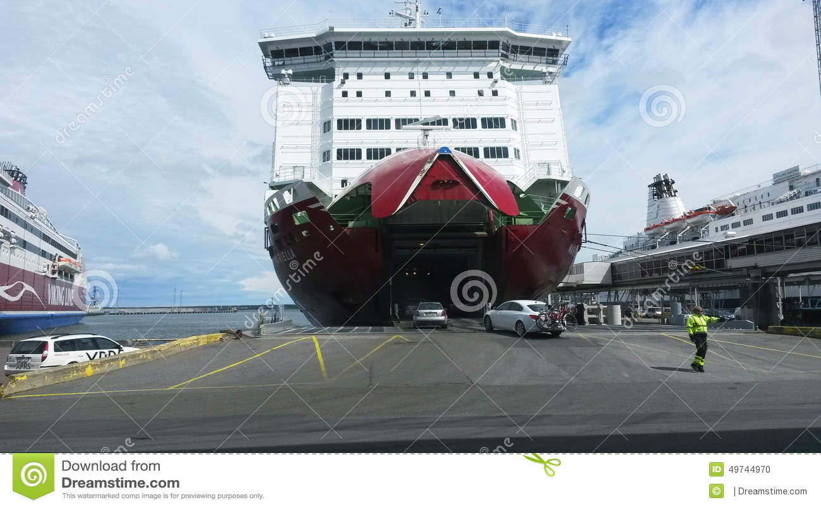 Viking Line Mariella Editorial Image - Image: 49744970