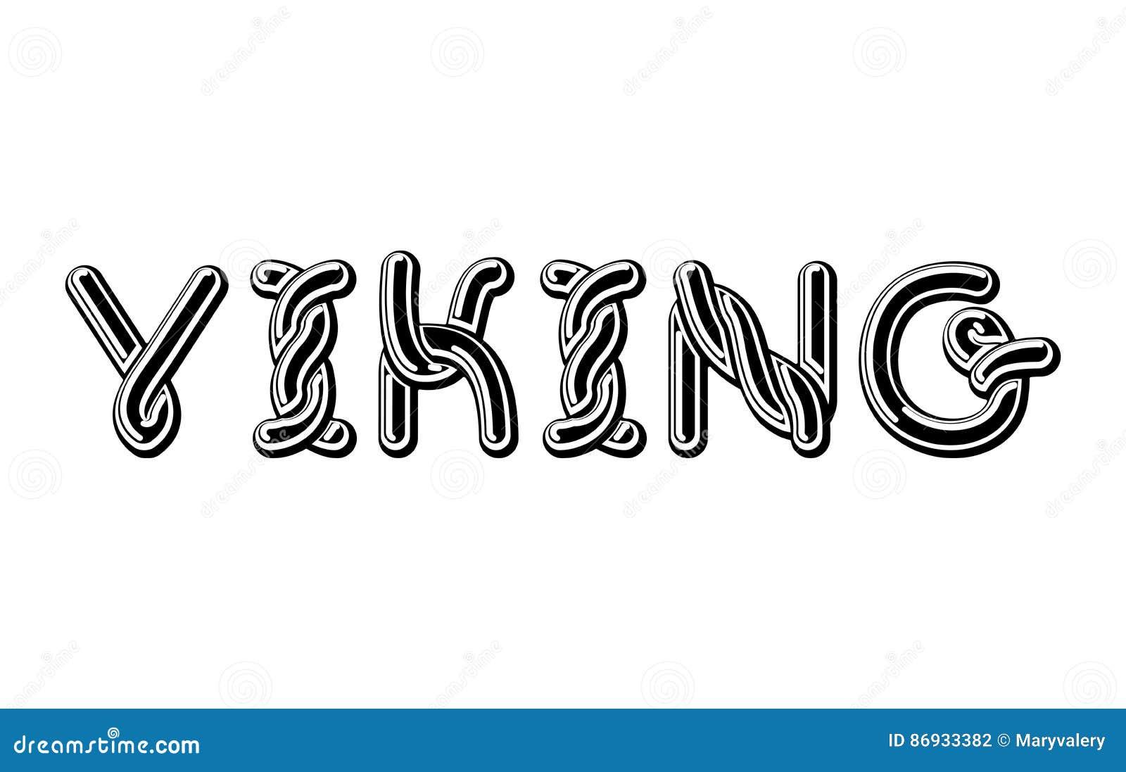 Free fonts viking font find samples