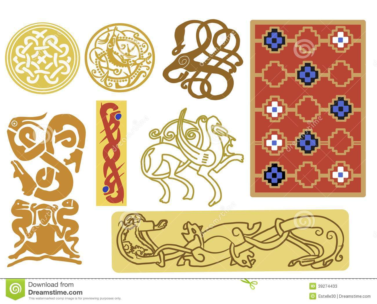 Image Gallery Viking Patterns